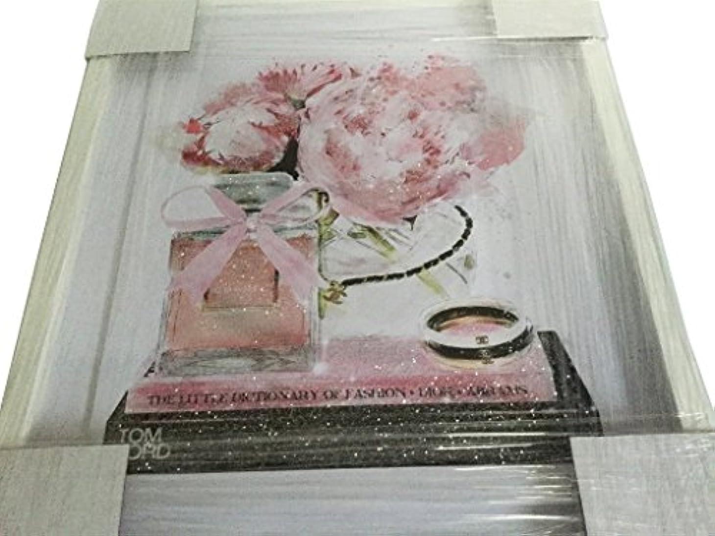 品ブレス逸話Oliver Gal O83 Elegant Perfume and Morning CHANEL スワロフスキー (17×20インチ:43.18×50.8cm)