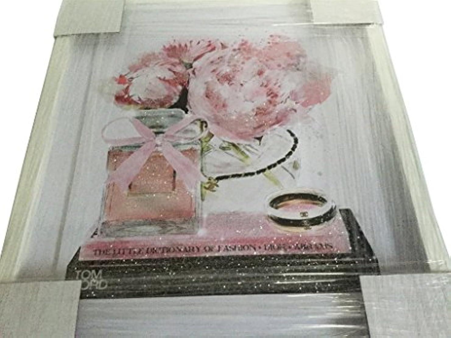 ワーディアンケース静的権限Oliver Gal O83 Elegant Perfume and Morning CHANEL スワロフスキー (17×20インチ:43.18×50.8cm)