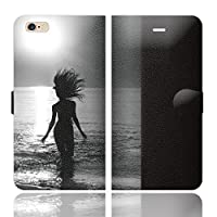 iPhone6SPlus iPhone6Plus 手帳型 ケース カバー サーフガール YTPE 04MONO ブレインズ サーフ 美しい 美人 海 写真 フォト 人気 サーフィン 波乗り サマー 夏 西海岸 ハワイ ポップ スマートフォン グッズ