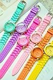 12color ビビットカラー腕時計 ベージュ カラーウォッチ 全12色 [FSCW001-BG]