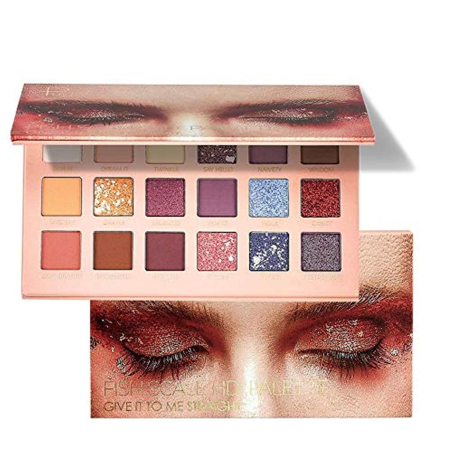 炎上クスコハロウィンタコニャン 18色 Eye Shadow アイシャドウパレット グリッターアイシャドウ パール マットマット 着色が簡単で、発色が良い 明るい目効果で印象や魅力アップ