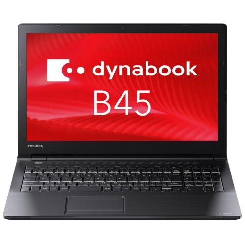 【Officeセット】東芝 Dynabook PB45BNAD4RDAD81 Windows7 Pro 32/64Bit 第6世代 Celeron 4GB 500GB DVDスーパーマルチ 高速無線LAN IEEE802.11ac/a/b/g/n Bluetooth 10キー付日本語キーボード 15.6型LED非光沢液晶搭載ノートパソコン Windows10 Pro 64bit リカバリメディア付でOS入替可 Thinkfree Office NEOセット