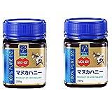 MANUKA HEALTH マヌカヘルス ニュージーランド産はちみつ マヌカハニー MGO400+ 250g 日本語表示ラベル 2個セット