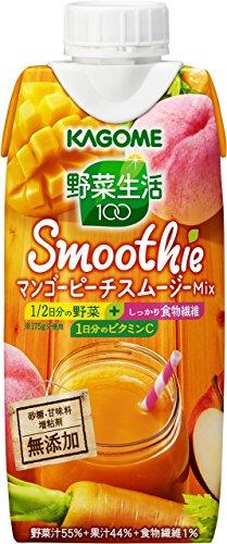 カゴメ 野菜生活100 Smoothie マンゴーピーチスム...