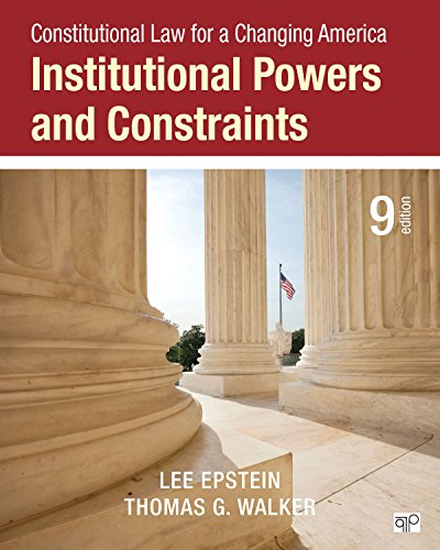 Download Constitutional Law for a Changing America 1483384055