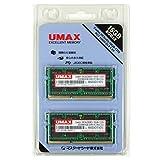 UMAX PCメモリ SoDDR3-1333(8GB*2) Dual Set Castor DCSoD3-16GB-1333