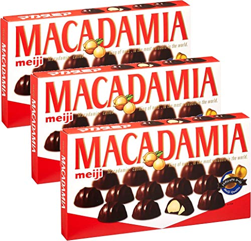明治のマカダミアチョコ 9粒×3箱