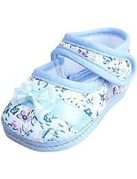 Vacally 2018新製品 超人気ベビー屋内弓幼児靴 女子幼児靴 コットンノンスリップ ソフト ファッション かわいい かなり スペシャルドリーム プリンセス  Toddler shoes