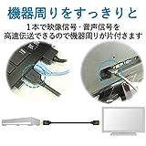 エレコム HDMIケーブル ハイスピード 3.0m イーサネット/4K/3D/オーディオリターン PS3/PS4/Xbox360/ニンテンドークラシックミニ対応 ブラック DH-HD14ER30BK