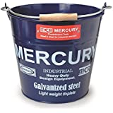 MERCURY マーキュリー ブリキバケツ ゴミ箱 NAVY ネイビー