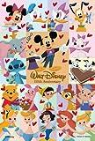 ディズニー ジグソーパズルプチ204ピース みんなでハッピーアニバーサリー! パズル+フレームセット 98-598