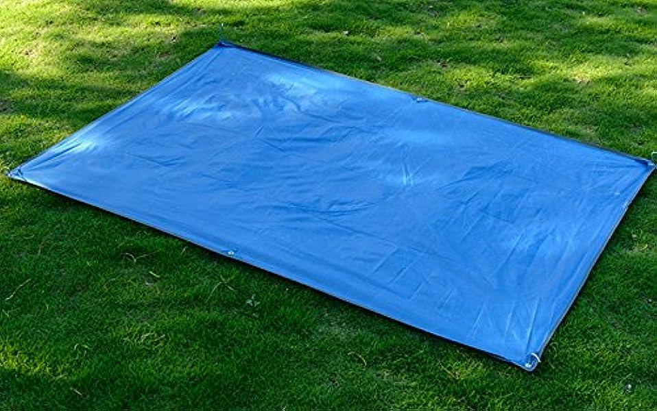 ピラミッド熟考する放出NatureHike 防水マルチシート 215cm×210cm カラー ブルー