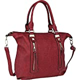 (MKFコレクション) MKF Collection レディース バッグ トートバッグ Colmar Top Stitched Weekender Tote 並行輸入品