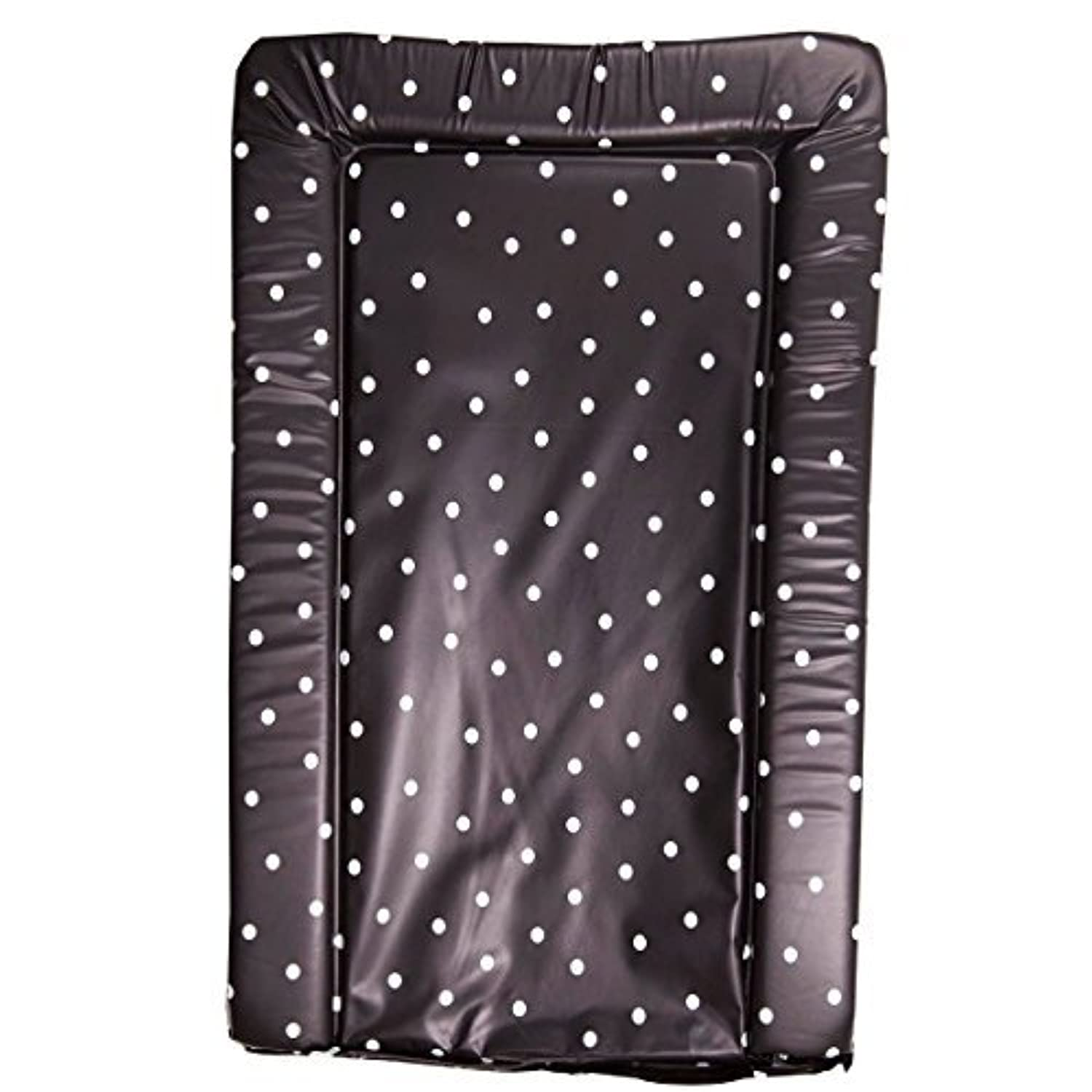 It's A Baby Changing Mat (Black With White Polka Dots) by It's A Baby