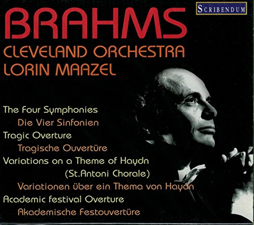 Comp.symphonies: Maazel / Cleveland.o +overtures, Haydn Variations