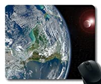 美しいPlanet Earthカスタマイズマウスパッド002 300 * 250 * 3 mm