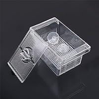 KLUMA 孵化ボックス 魚 高透明 多機能孵化機 アイソレーション、繁殖、給餌小さな魚種 バケツ魚、グッピー、メダカなどの産卵ボックス