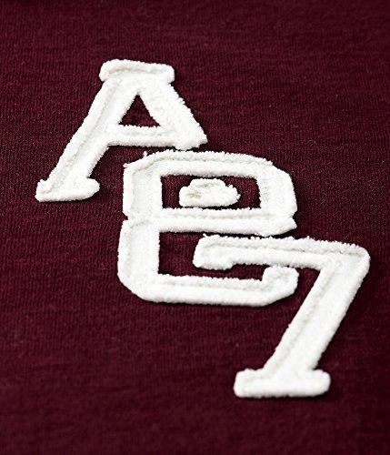(エアロポステール)AEROPOSTALE 半袖ポロシャツ A87 Logo Jersey Polo マゼンタ Magenta (S) [並行輸入品]