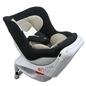 エールベベ 『日本製・安心トリプル保証付』回転型チャイルドシート 360ターンS2 【シートベルト取付】 新生児から4歳用(360度回転型) ブラック ALB80