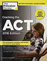 Cracking the ACT with 6 Practice Tests 2016 Edition (College Test Preparation) 【Creative Arts】 [並行輸入品]