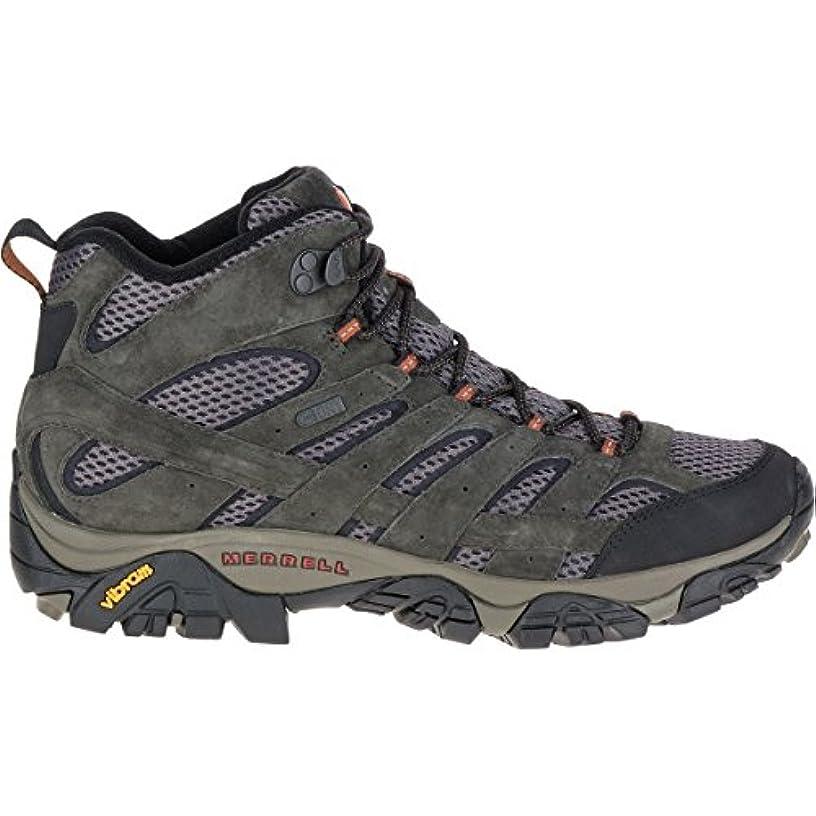 セブン炭素不平を言う[メレル] メンズ ハイキング Moab 2 Mid Waterproof Hiking Boot - Men' [並行輸入品]