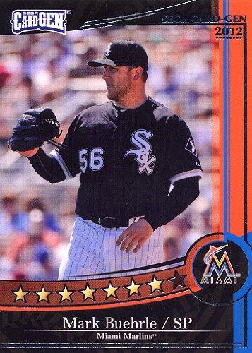 【SEGA CARD GEN MLB】セガ カードジェンMLB 2012 黒カード J12-293 マーク・バーリー