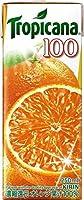 キリン トロピカーナ 100% オレンジ 250ml紙パック×24本入 3ケース