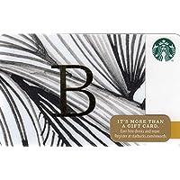 スターバックス スタバ カード 2014 ホリデー99 No.02 『アルファベットB』海外版