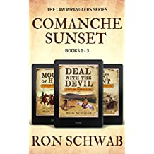 Comanche Sunset: Western Box Set (The Law Wranglers, Books 1-3)