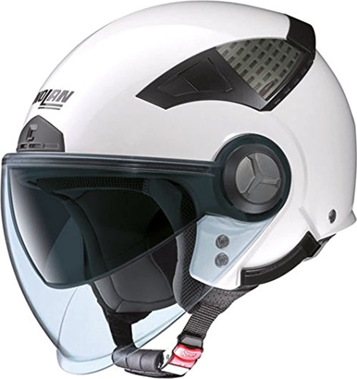 ヒョウ適応的シャトルNolan ノーラン N33 Helmet ヘルメット ホワイト XXS(51~52cm)