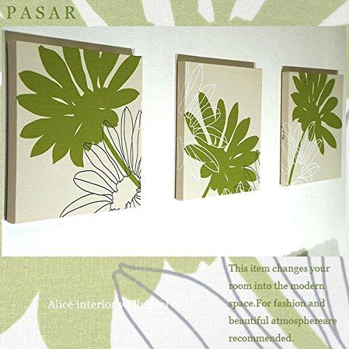ファブリックパネル adornoPASAR グリーン