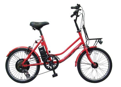 aero assistant(エアロアシスタント) 電動自転車 アンジー+N 20インチ aNgee+N レッド
