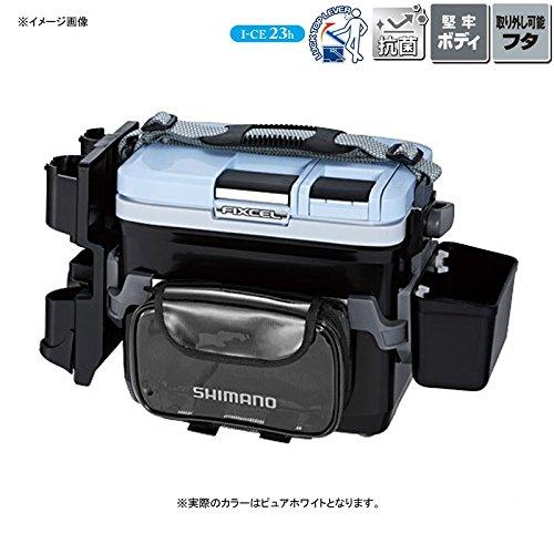 シマノ(SHIMANO) クーラーボックス フィクセル ライトゲームスペシャル II 90 ピュアホワイト LF-L09P