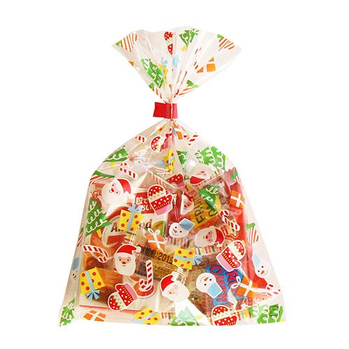 クリスマス袋 150円 お菓子 詰め合わせ(Bセット) 駄菓子 袋詰め おかしのマーチ