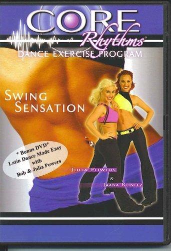 【ショップジャパン海外正規品】 コアリズム スイングセンセーション Core Rhythms Dance Exercise Program - Swing Sensation