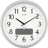 CITIZEN (シチズン) 電波掛け時計 ネムリーナカレンダーM02 4FYA02-019