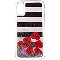 [アイフォリア]Amazon公式 正規品 iPhone X対応 Hearts Stripes for iPhone X 14587