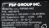 FSP065-AAC 19V3.42A 純正ACアダプター