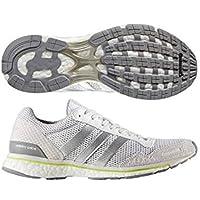 [アディダス] adidas ランニング レディース チャレンジランナーシューズ ADIZERO JAPAN BOOST 3 W レディース 23.0㎝ 国内正規品 BY2782 ホワイト/シルバーメット/ソーラーイエロー