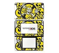 3DS スキンシール デコシール D3D-AT11 モンキーバナナ ニンテンドー3DS 保護 カバーシール