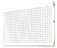 Simonrack 8435104919156 900 x 400 mmパンチングメタルシェルフ - ホワイト
