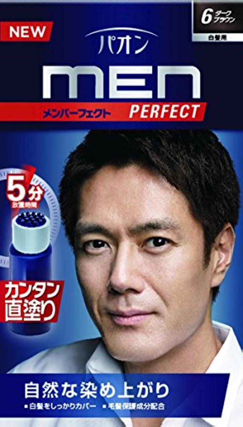マトリックス褒賞エチケットパオン メンパーフェクト 6 ダークブラウン 40g+40mL (医薬部外品)