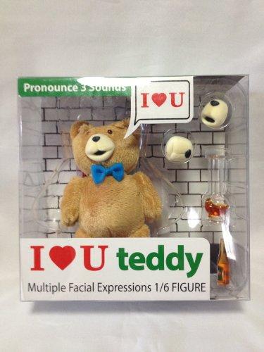 1/6 I LOVE U Teddy ted テッド アクションフィギュア テッド/ホットトイズ エンターベイと同スケール
