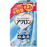 【大容量】アクロン おしゃれ着洗剤 ナチュラルソープの香り(微香) 詰め替え 900ml