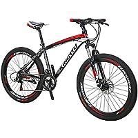 Extrbici 688 マウンテンバイク MTB 自転車本体 シマノ21段変速 アルミフレーム タイヤ26インチ ディスクブレーキ サスペンション 軽量 通勤通学用