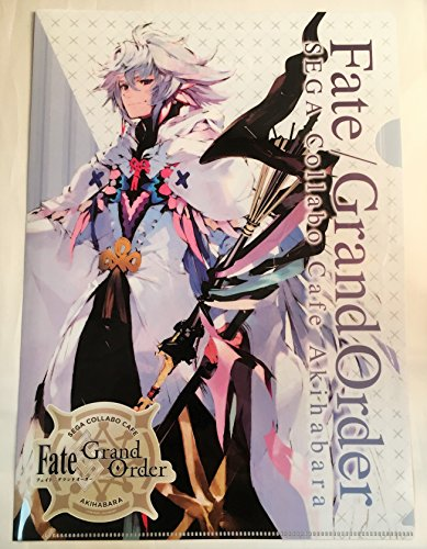 FGO Fate grand order セガ コラボカフェ クリアファイル マーリン