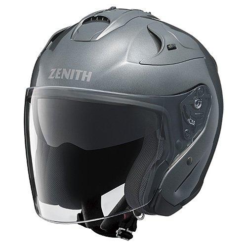 YAMAHA (ヤマハ) バイクヘルメット ジェット YJ-17 ZENITH L(59-60cm) ダークメタリックシルバー 90791-2303L B00IQ6NEC6 1枚目