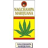 Ppure Nag ChampaマリファナPerfumeプレミアムMasala Incense Sticks 15グラム