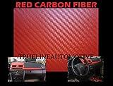 2002–2006年GMC Sierra DenaliレッドカーボンファイバーフードDashミラー屋根ラップシートビニールデカール48