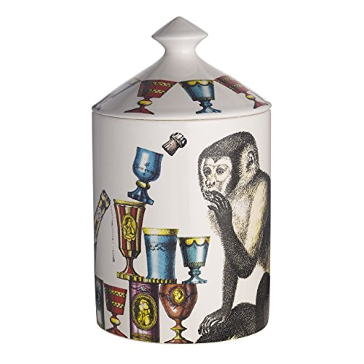 魔女確認してくださいペグフォルナセッティ シンミエ センテッド キャンドル 300g(Fornasetti Scimmie Scented Candle 300g)[海外直送品] [並行輸入品]